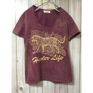 ダブルネーム(DOUBLE NAME)の[DOUBLENAME]ヴィンテージ風Tシャツ(Tシャツ(半袖/袖なし))