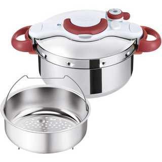 ティファール 圧力鍋 4.5L IH対応 2~4人用 レッド P4620669(鍋/フライパン)