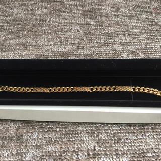 ニナリッチ(NINA RICCI)のレア品 ニナリッチ(NINARICCI)デザイン K18  メンズブレス(ブレスレット)