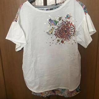 TSUMORI CHISATO - ツモリチサト ユニコ Tシャツ ホワイト コラボ