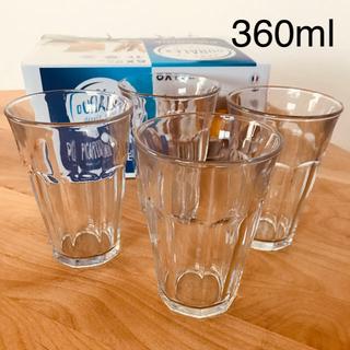 デュラレックス(DURALEX)のデュラレックス ピカルディ 360ml 4個セット 正規品 送料込(グラス/カップ)