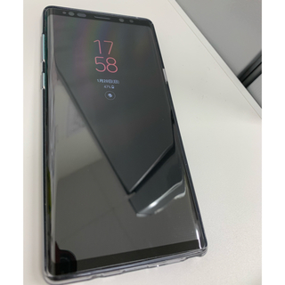 サムスン(SAMSUNG)のGalaxyNote9 ブラック au(スマートフォン本体)