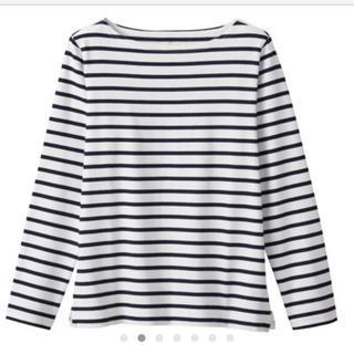 MUJI (無印良品) - 無印良品 太番手天竺編み長袖Tシャツ