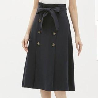 GU - gu トレンチフレアスカート