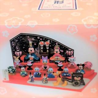 ディズニー(Disney)の新品 2019 最新 ディズニー ひな人形 ミッキー ミニー 4段雛飾(その他)