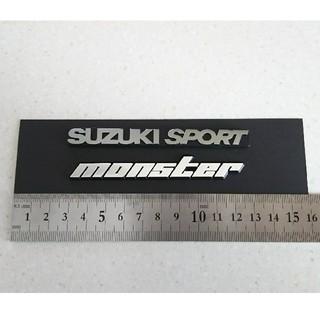 〔新品〕monster suzukisport エンブレム