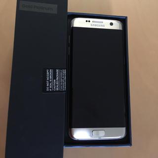 サムスン(SAMSUNG)のGalaxy S7 edge(スマートフォン本体)
