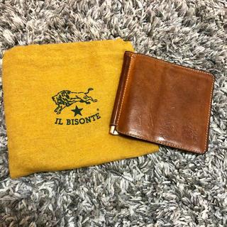 イルビゾンテ(IL BISONTE)のイルビゾンテ マネークリップ 財布(マネークリップ)