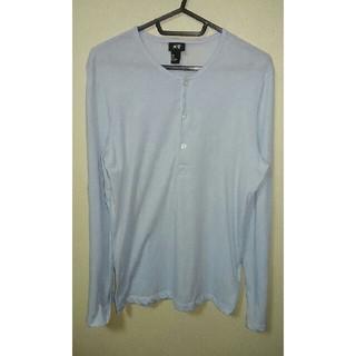 H&M ヘンリーネック 長袖Tシャツ(Tシャツ/カットソー(七分/長袖))