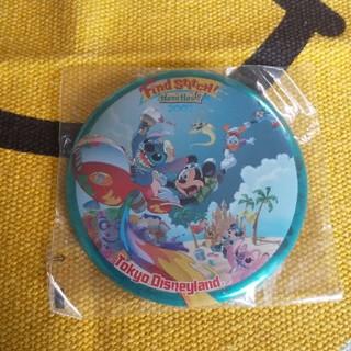 ディズニー(Disney)のディズニー 缶バッヂ 2007 スティッチ(バッジ/ピンバッジ)