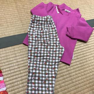 ブランシェス(Branshes)のブランシェス トップス&パンツ セット 90サイズ(Tシャツ/カットソー)