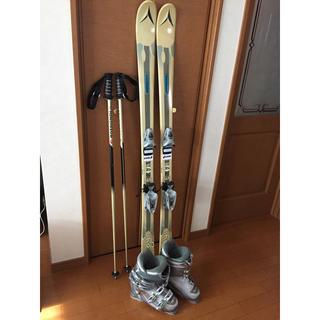 スキー 4点セット 女性用 150(板)