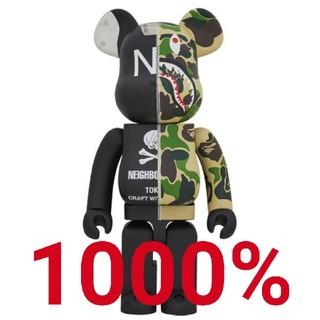 1000% APE × NEIGHBORHOOD BE@RBRICK
