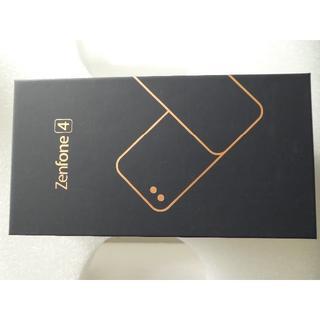 エイスース(ASUS)の【未開封】 ZenFone4カスタマイズモデル 64GB メモリ4GB ホワイト(スマートフォン本体)