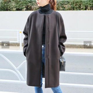 IENA - ⭐️新品未使用タグ付き⭐️イエナ 二重織りシャルムノーカラーコート