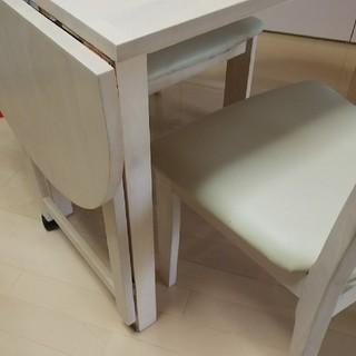 【美品】2人掛けダイニングテーブル(ダイニングテーブル)