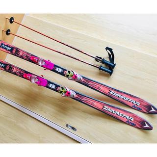 ディナスター(DYNASTAR)の美品 スキー板 dynastar 150センチ ビンディング ストック セット(板)
