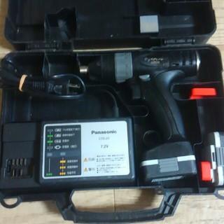 Panasonic インパクトドライバー7.2V 中古(工具/メンテナンス)