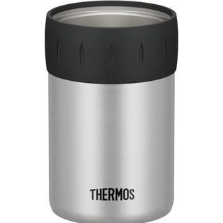 サーモス(THERMOS)の新品未使用 大人気 サーモス 保冷缶ホルダー 350ml缶用 シルバー(容器)