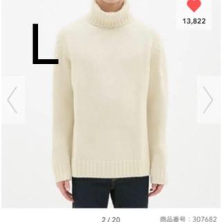 GU - 新品 ローゲージタートルネックセーター
