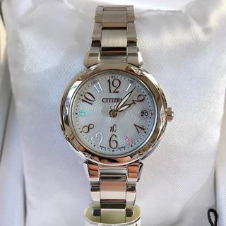 シチズン(CITIZEN)の【新品】シチズン クロスシー   ミニソル 限定モデル 電波時計 (ルキア)(腕時計)