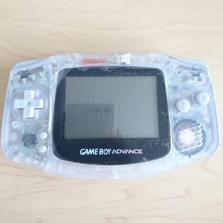 ゲームボーイアドバンス(ゲームボーイアドバンス)のゲームボーイアドバンス クリア(携帯用ゲーム本体)
