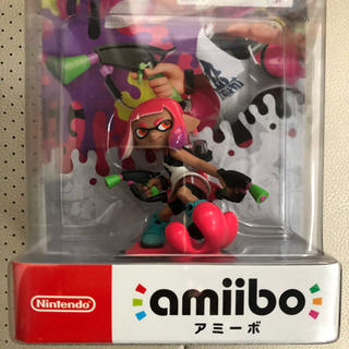 ニンテンドースイッチ(Nintendo Switch)のamiibo ガール ネオンピンク(ゲームキャラクター)
