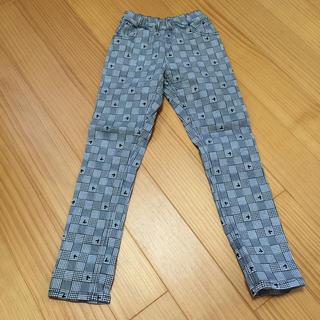 ディズニー(Disney)のミッキーチェック柄ズボン(パンツ/スパッツ)
