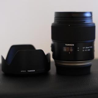 タムロン(TAMRON)のTAMRON SP 35mm F1.8 CANONマウント(レンズ(単焦点))