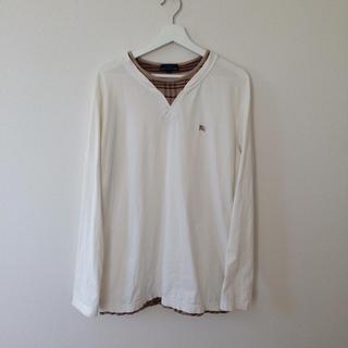 バーバリー(BURBERRY)のバーバリーロンドン メンズL(Tシャツ/カットソー(七分/長袖))