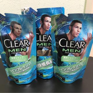 CLEAR  MEN シャンプー2個 コンディショナー1個(シャンプー)