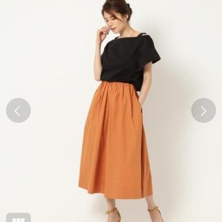 バビロン(BABYLONE)の美品 バビロン ギャザー スカート(ひざ丈スカート)