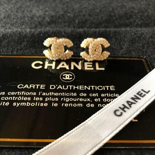 CHANEL - CHANEL ノベルティ ピアス