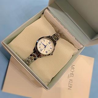 ミッシェルクラン(MICHEL KLEIN)のMICHEL KLEIN ミッシェルクラン 腕時計 シルバー(腕時計)