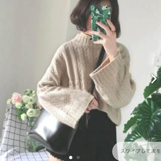ゴゴシング(GOGOSING)のハイネックセーター ニット 17kg 韓国 値下げ交渉あり(ニット/セーター)