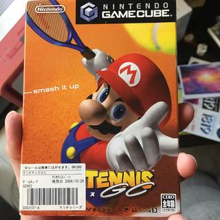 ニンテンドーゲームキューブ(ニンテンドーゲームキューブ)のマリオテニスGC(家庭用ゲームソフト)