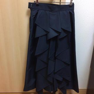ドゥロワー(Drawer)のshe tokyo alice navy サイズ36(ロングスカート)