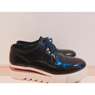 ユナイテッドアローズ(UNITED ARROWS)の【最終値下】Pippichic プラットフォームレースアップシューズ(ローファー/革靴)