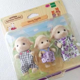 エポック(EPOCH)のシルバニアファミリー 海外版 ヒツジファミリー 人形  (キャラクターグッズ)