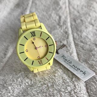 新品 レディース 腕時計 黄色 (腕時計)