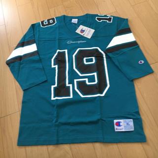 チャンピオン(Champion)のチャンピオン 新品 フットボールTシャツ ロンT 大きいサイズ ビッグTシャツ(Tシャツ/カットソー(七分/長袖))