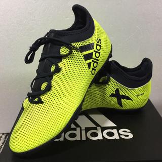 アディダス(adidas)のサッカー トレーニングシューズ 27.0cm エックス タンゴ 17.3 TF (シューズ)