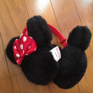 ディズニー(Disney)のミニーちゃんのイヤーマフラー(耳あて)(イヤーマフ)