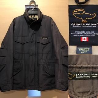 カナダグース(CANADA GOOSE)のCANADA GOOSE カナダグース トラベル ジャケット M相当のXSサイズ(ブルゾン)