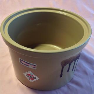 久松 常滑焼 家庭用漬物容器  4.4L(容器)