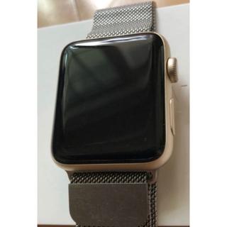 アップルウォッチ(Apple Watch)のApplewatch series2  ゴールドアルミニウム(その他)