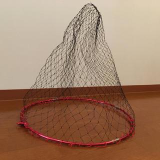 中古 タモ網+フレーム セット 折りたたみ可能 50cm