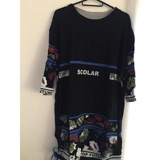 スカラー(ScoLar)のスカラー  半袖ワンピ(ひざ丈ワンピース)
