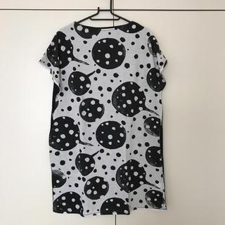 グラニフ(Design Tshirts Store graniph)の新品 グラニフ 水玉チュニック(チュニック)