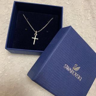 スワロフスキー(SWAROVSKI)の十字架ネックレス(ネックレス)